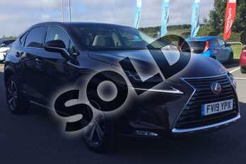 Lexus NX 300h 2.5 Takumi 5dr CVT (Pan roof) in Copper Brown at Lexus Lincoln