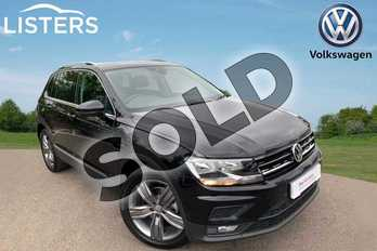 Volkswagen Tiguan 1.5 TSI EVO 150 Match 5dr DSG in Deep black at Listers Volkswagen Leamington Spa