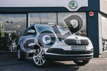 Skoda Karoq Diesel 2.0 TDI SE L 5dr in Brilliant Silver at Listers ŠKODA Coventry