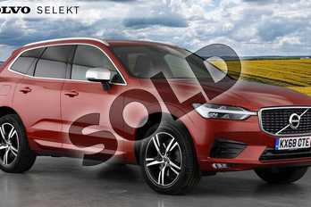Volvo XC60 Diesel 2.0 D5 PowerPulse R DESIGN 5dr AWD Geartronic in 725 Fusion Red at Listers Volvo Worcester