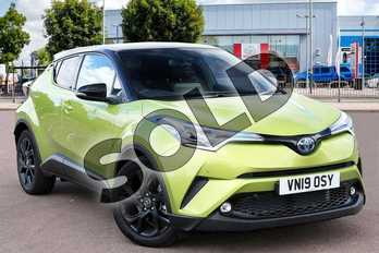 Toyota C-HR Special Edition 1.8 Hybrid Lime Edition 5dr CVT in Lime Green at Listers Toyota Cheltenham