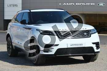 Range Rover Velar Diesel 2.0 D180 R-Dynamic S 5dr Auto in Flint White at Listers Land Rover Solihull