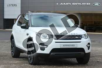 Land Rover Discovery Sport Diesel SW 2.0 TD4 180 SE Tech 5dr Auto in Fuji White at Listers Land Rover Solihull