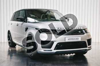 Range Rover Sport 3.0 P400 HST 5dr Auto in Indus Silver at Listers Land Rover Solihull