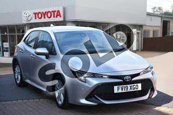 Toyota Corolla 1.8 VVT-i Hybrid Icon Tech 5dr CVT in Sterling Silver at Listers Toyota Grantham
