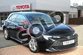 Toyota Corolla 1.8 VVT-i Hybrid Icon Tech 5dr CVT in Eclipse Black at Listers Toyota Grantham