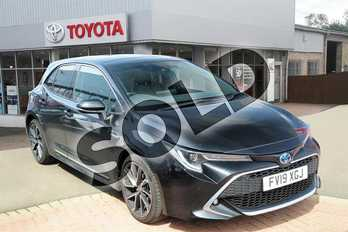 Toyota Corolla 1.8 VVT-i Hybrid Excel 5dr CVT in Eclipse Black at Listers Toyota Grantham