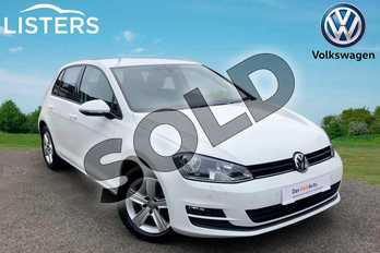 Volkswagen Golf 1.4 TSI 125 Match Edition 5dr in Pure white at Listers Volkswagen Worcester