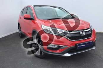 Honda CR-V Diesel 1.6 i-DTEC 160 EX 5dr Auto  in Rallye Red at Listers Honda Solihull