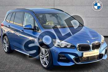 BMW 2 Series Diesel Gran Tourer 220d xDrive M Sport 5dr Step Auto in Estoril Blue at Listers Boston (BMW)