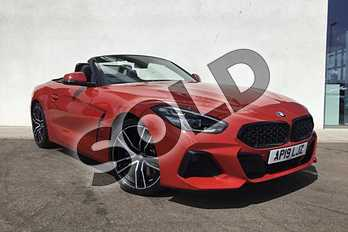 BMW Z4 Roadster sDrive 30i M Sport 2dr  Auto in San Francisco Red at Listers King's Lynn (BMW)