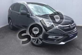 Honda CR-V Diesel 1.6 i-DTEC 160 SR 5dr in Crystal Black at Listers Honda Solihull