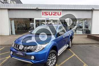 Mitsubishi L200 Double Cab DI-D 178 Barbarian 4WD Auto in Metallic - Electric blue at Listers Isuzu Worcester