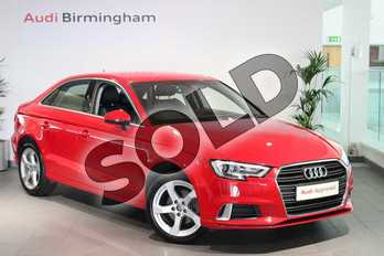 Audi A3 Diesel 30 TDI 116 Sport 4dr in Tango Red Metallic at Birmingham Audi