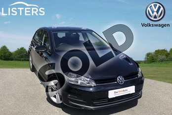 Volkswagen Golf 1.4 TSI 125 Match Edition 5dr in Deep black at Listers Volkswagen Worcester
