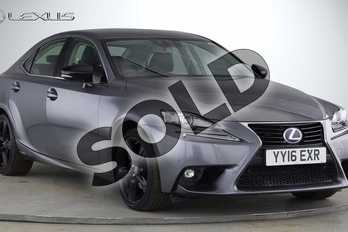 Lexus IS 300h Sport 4dr CVT Auto in Mercury Grey at Lexus Coventry
