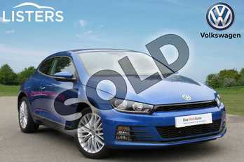 Volkswagen Scirocco 1.4 TSI BlueMotion Tech 3dr in Rising Blue at Listers Volkswagen Coventry