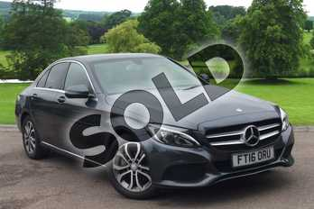 Mercedes-Benz C Class Diesel C250d Sport 4dr Auto in Tenorite Grey Metallic at Mercedes-Benz of Grimsby