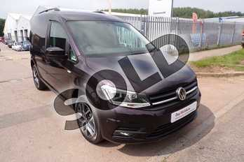 Volkswagen Caddy C20 Diesel 2.0 TDI BlueMotion Tech 150PS Highline Van in Blackberry at Listers Volkswagen Van Centre Worcestershire
