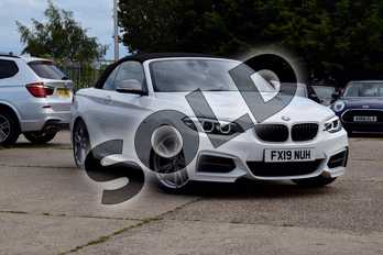 BMW 2 Series Convertible M240i 2dr (Nav) Step Auto in Alpine White at Listers Boston (BMW)