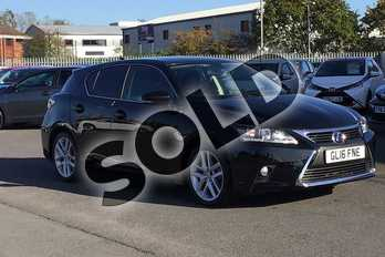 Lexus CT 200h 1.8 Luxury 5dr CVT Auto in Velvet Black at Lexus Cheltenham