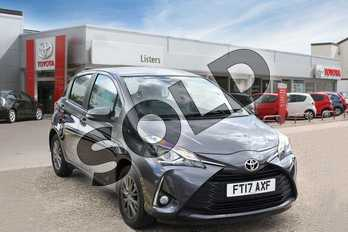 Toyota Yaris 1.5 VVT-i Icon Tech 5dr in Decuma Grey at Listers Toyota Boston