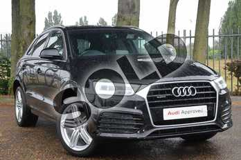 Audi Q3 Special Editions 2.0 TDI Quattro S Line Plus 5dr in Mythos Black, metallic at Coventry Audi