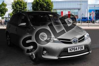 Toyota Auris 1.8 VVTi Hybrid Excel 5dr CVT Auto in Brown at Listers Toyota Nuneaton