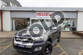 Ford Ranger Pick Up Double Cab Black Edition 2.2 TDCi  Auto in Mica - Shadow black at Listers Isuzu Worcester