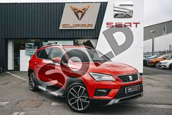 SEAT Ateca 1.5 TSI EVO Xcellence Lux (EZ) 5dr in Red at Listers SEAT Coventry
