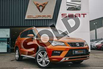 SEAT Ateca 1.5 TSI EVO FR (EZ) 5dr in Orange at Listers SEAT Coventry