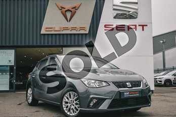 SEAT Ibiza 1.0 TSI 95 SE Design 5dr in Grey at Listers SEAT Coventry