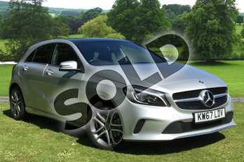 Mercedes-Benz A Class Diesel A200d Sport Edition Plus 5dr Auto in Polar Silver at Mercedes-Benz of Grimsby