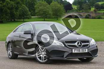Mercedes-Benz E Class E200 AMG Line Premium 2dr 7G-Tronic in Obsidian Black metallic at Mercedes-Benz of Grimsby