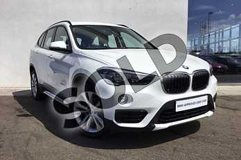 BMW X1 Diesel sDrive 18d Sport 5dr Step Auto in Alpine White at Listers King's Lynn (BMW)