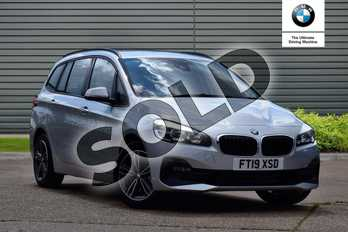 BMW 2 Series Diesel Gran Tourer 220d xDrive Sport 5dr Step Auto in Glacier Silver at Listers Boston (BMW)