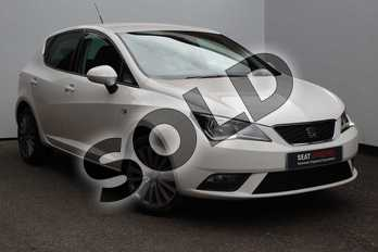 SEAT Ibiza 1.2 TSI 90 SE Technology 5dr in White at Listers SEAT Worcester