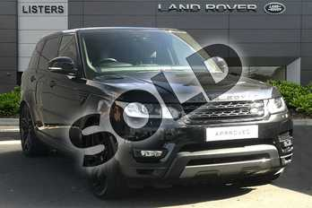 Range Rover Sport Diesel 3.0 SDV6 (306) HSE Dynamic 5dr Auto in Santorini Black at Listers Land Rover Droitwich
