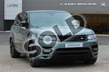 Range Rover Sport Diesel 4.4 SDV8 Autobiography Dynamic 5dr Auto in Scotia Grey at Listers Land Rover Droitwich
