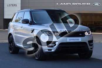Range Rover Sport Diesel 4.4 SDV8 Autobiography Dynamic 5dr Auto in Aruba at Listers Land Rover Hereford