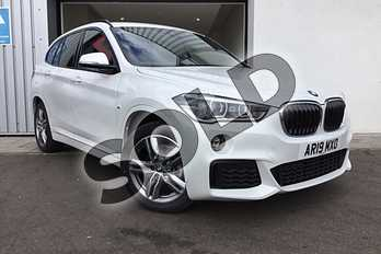 BMW X1 sDrive 18i M Sport 5dr in Mineral White at Listers King's Lynn (BMW)