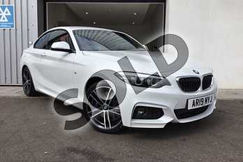 BMW 2 Series Diesel 225d M Sport 2dr Step Auto (Nav) in Mineral White at Listers King's Lynn (BMW)