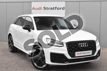 Audi Q2 35 TFSI Black Edition 5dr S Tronic in Ibis White at Stratford Audi