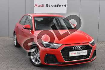 Audi A1 30 TFSI Sport 5dr in Misano Red Pearlescent at Stratford Audi