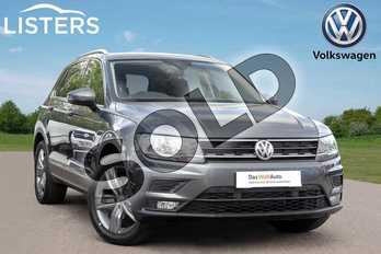Volkswagen Tiguan 1.5 TSI EVO 130 Match 5dr in Indium Grey at Listers Volkswagen Leamington Spa
