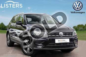 Volkswagen Tiguan 1.5 TSI EVO 150 Match 5dr in Deep Black at Listers Volkswagen Leamington Spa
