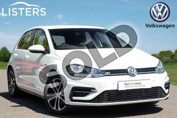 Volkswagen Golf 1.5 TSI EVO 150 R-Line 5dr in Pure White at Listers Volkswagen Leamington Spa