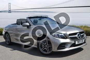 Mercedes-Benz C Class Diesel C220d 4Matic AMG Line Premium 2dr 9G-Tronic in Mojave Silver Metallic at Mercedes-Benz of Hull