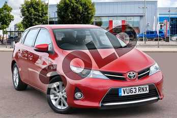 Toyota Auris 1.6 V-Matic Icon 5dr in Vermilion Red at Listers Toyota Cheltenham