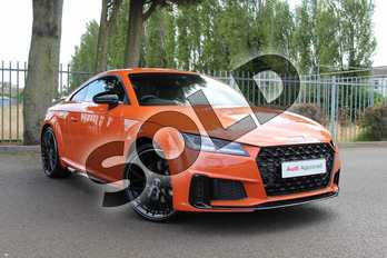 Audi TT 45 TFSI Black Edition 2dr S Tronic in Pulse Orange at Coventry Audi